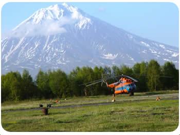 Вертолетные туры на Камчатке